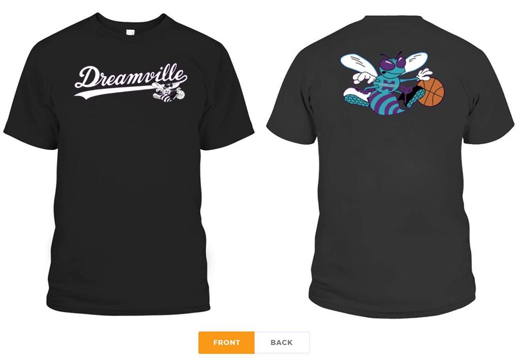 Charlotte Hornets X Dreamville 2020 T-Shirt