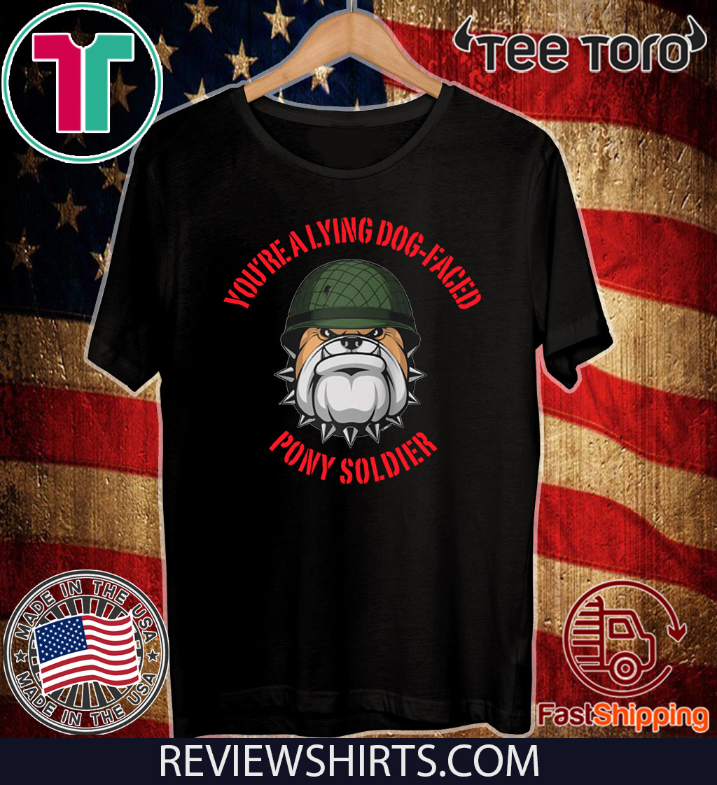 Lying dog-faced pony soldier Raglan Baseball Official T-Shirt