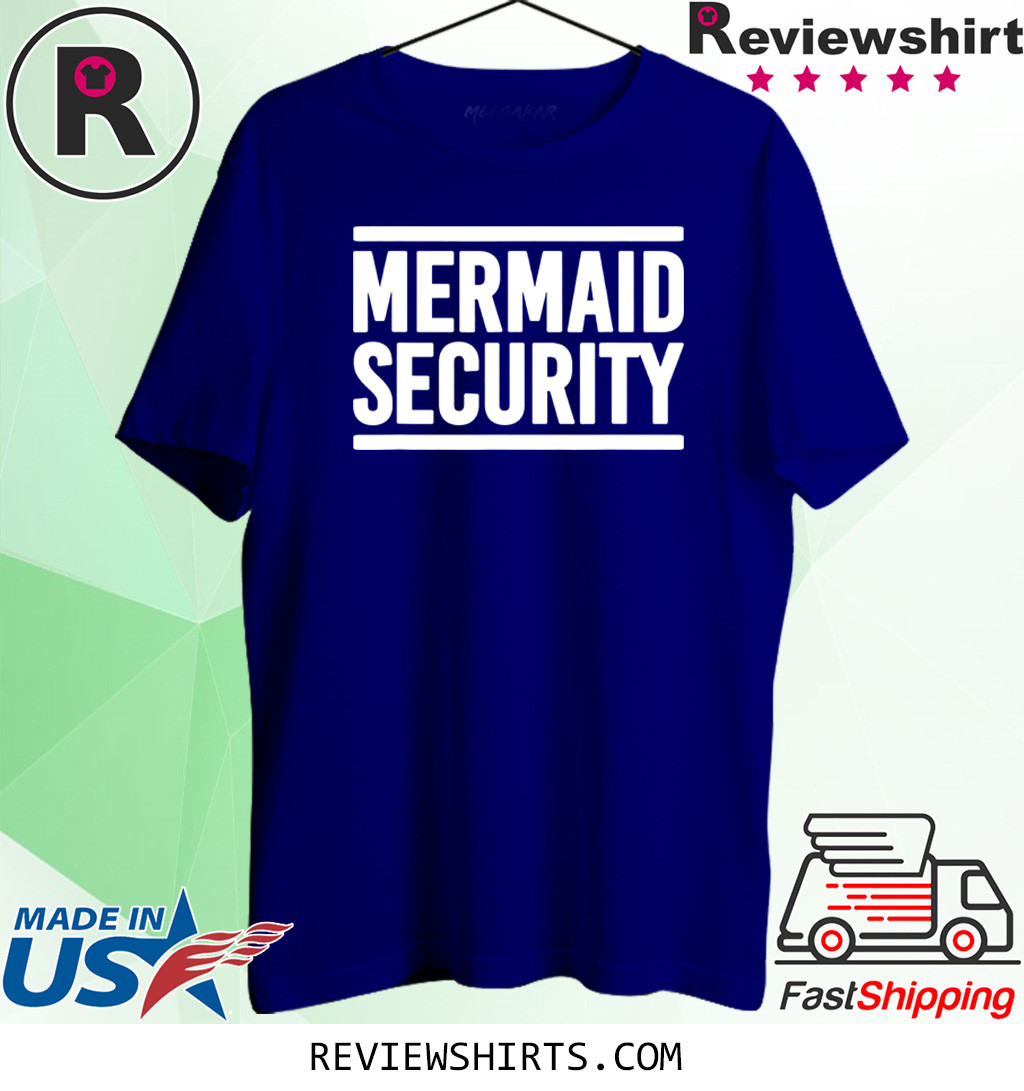 Mermaid Security Funny Swimming Lessons Shirt