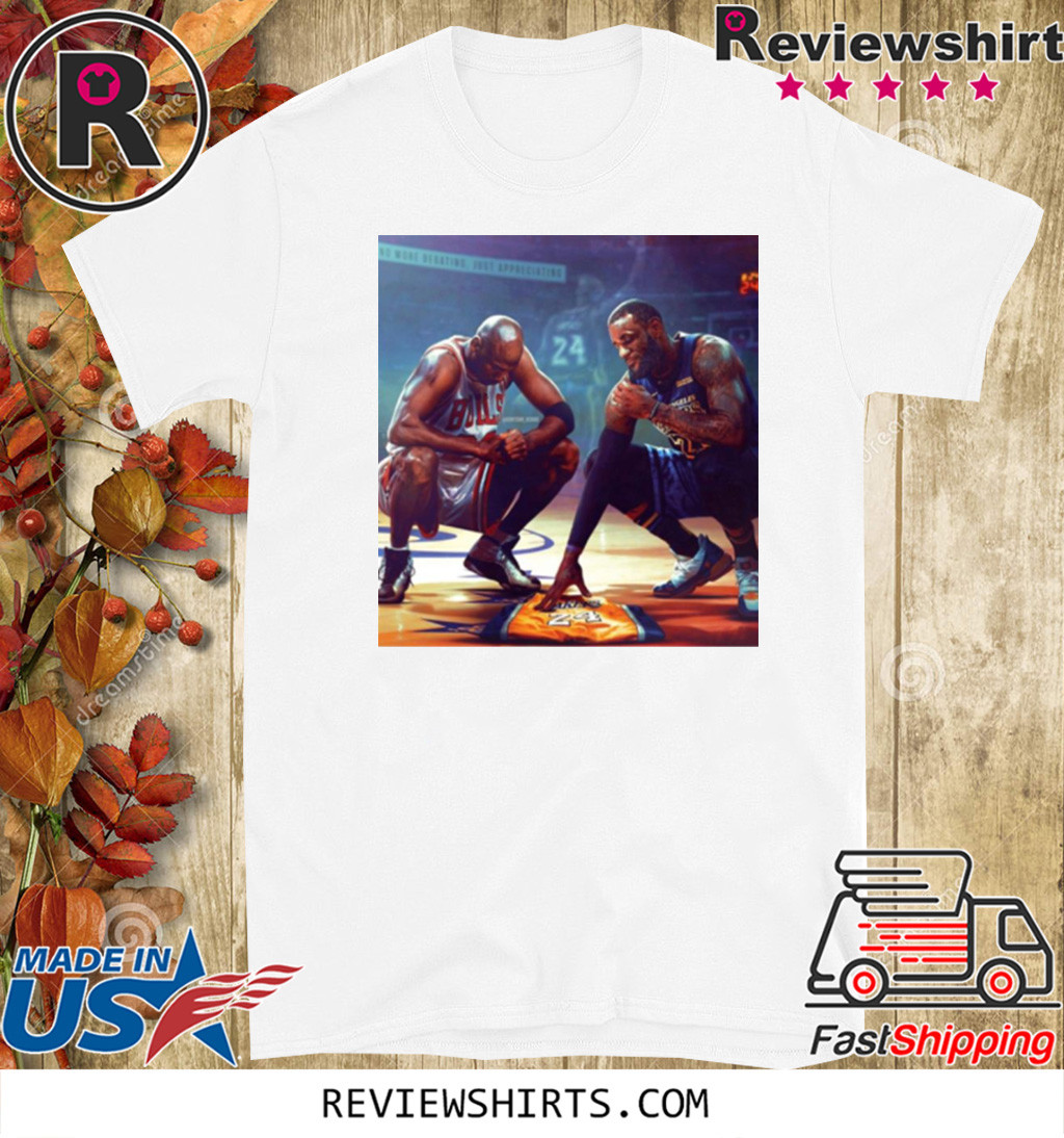Michael Jordan Lebron James RIP Kobe Bryant Shirt