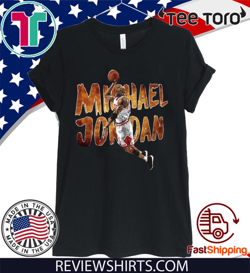 Michael Jordan Shirt Basketball Legend 2020 T-Shirt