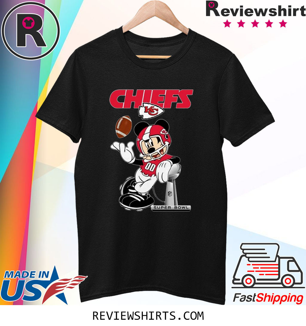 Mickey Kansas City Chiefs Champions Shirt