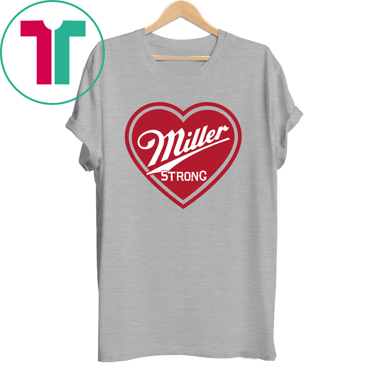 Miller Strong Milwaukee City T-Shirt
