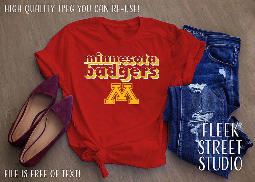 Minnesota Badgers T Shirt