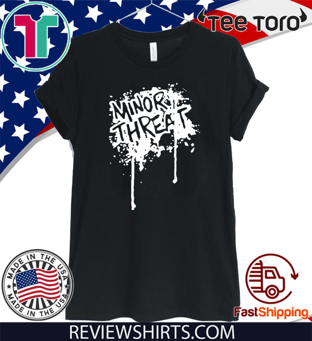 Minor Threat T Shirt