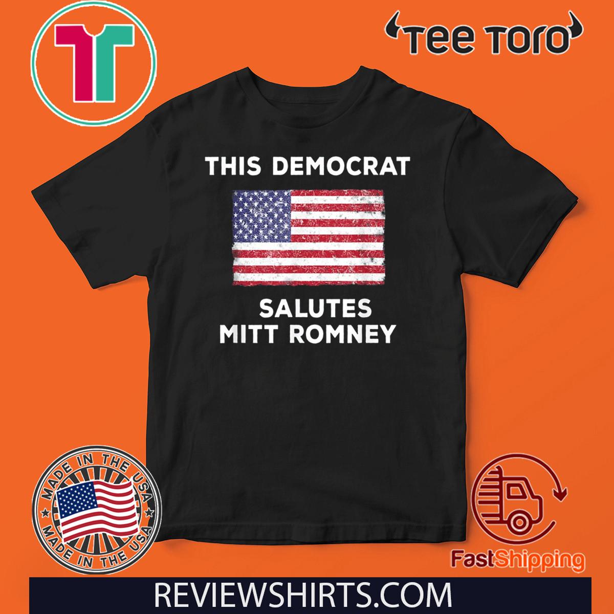 Mitt Romney Vote Senate Donald Trump 2020 Patriot Politics Shirt