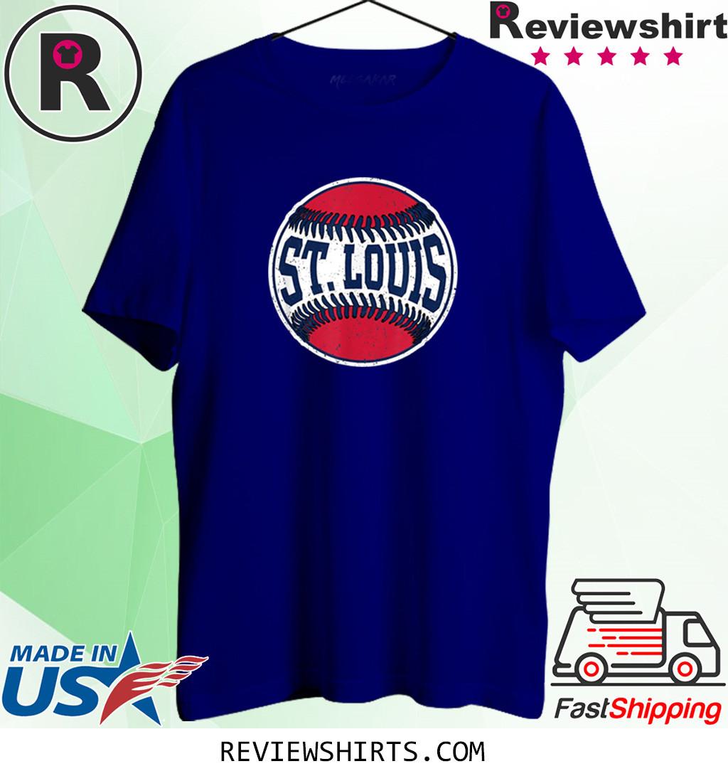 Vintage St. Louis Baseball STL Missouri Gameday T-Shirt