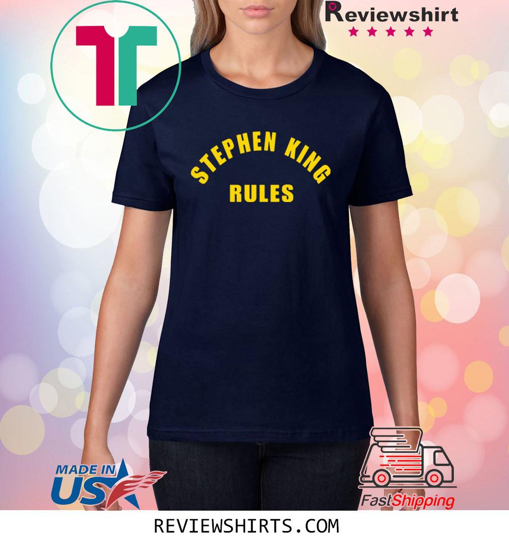 Monster Squad Sean Stephen King Rules T-Shirt