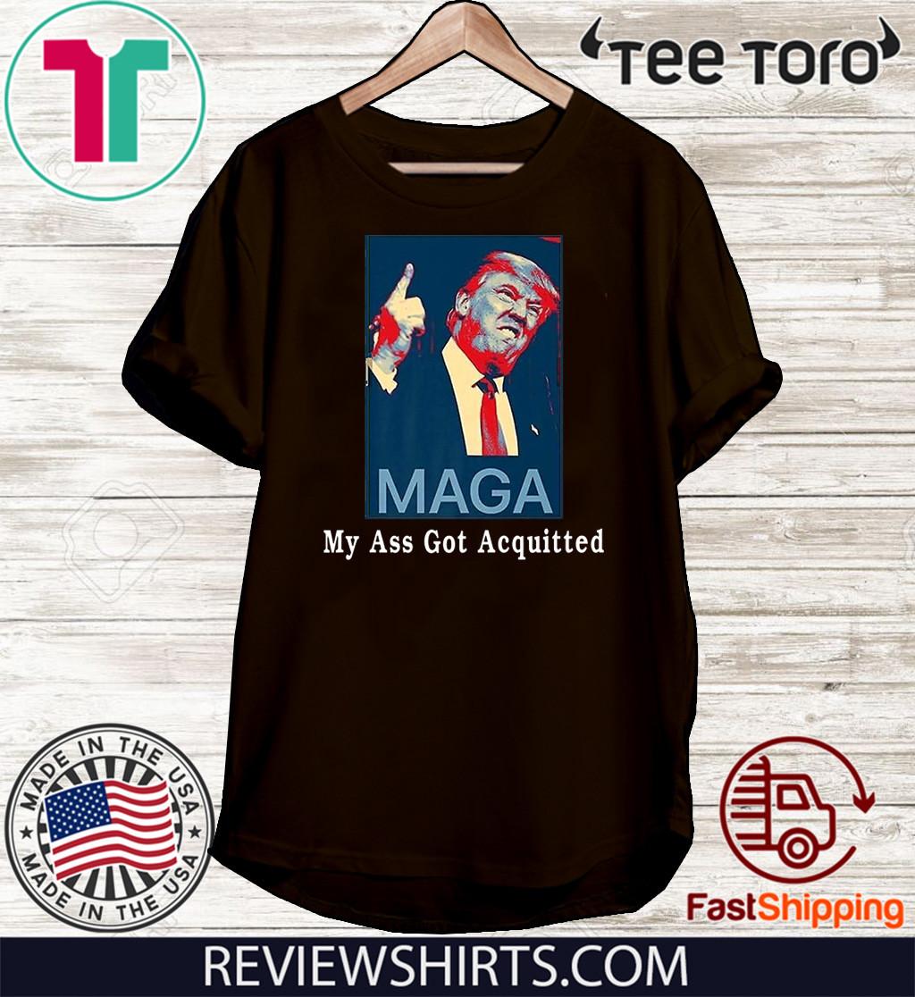 My Ass Got Acquitted Donald Trump 2020 Premium Shirt