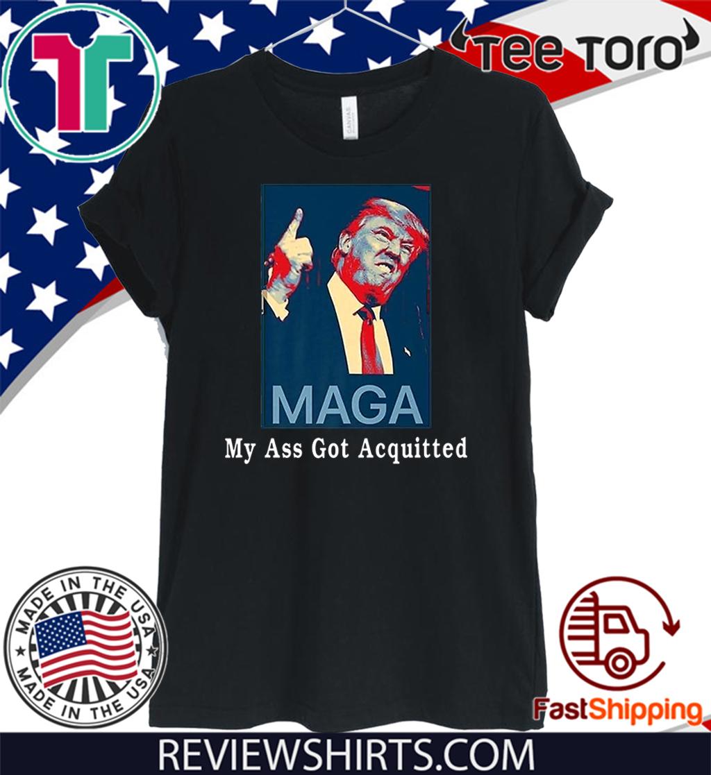My Ass Got Acquitted Donald Trump 2020 Premium T-Shirt