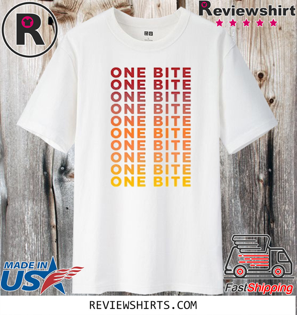 One Bite Gradient Cropped 2020 T-Shirt