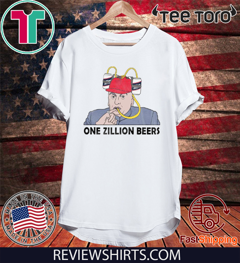 ONE ZILLION BEERS 2020 T-SHIRT