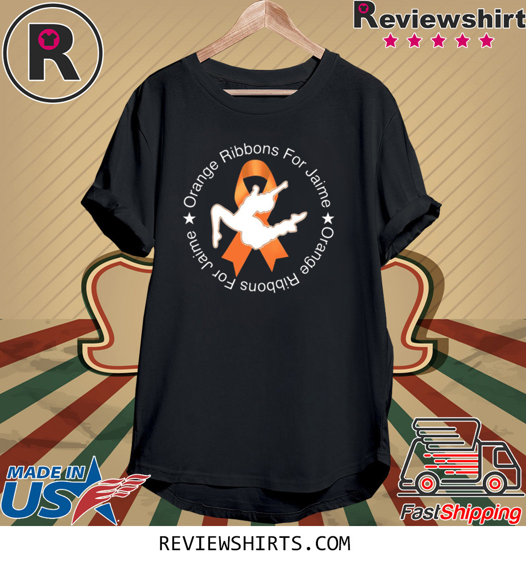 Orange Ribbons For Jaime T-Shirt