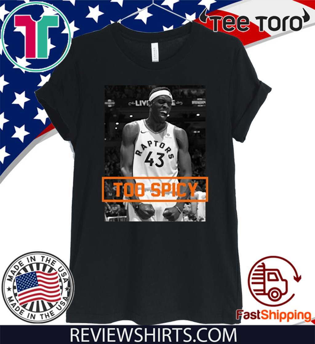 PASCAL SIAKAM TOO SPICY 2020 T-SHIRT
