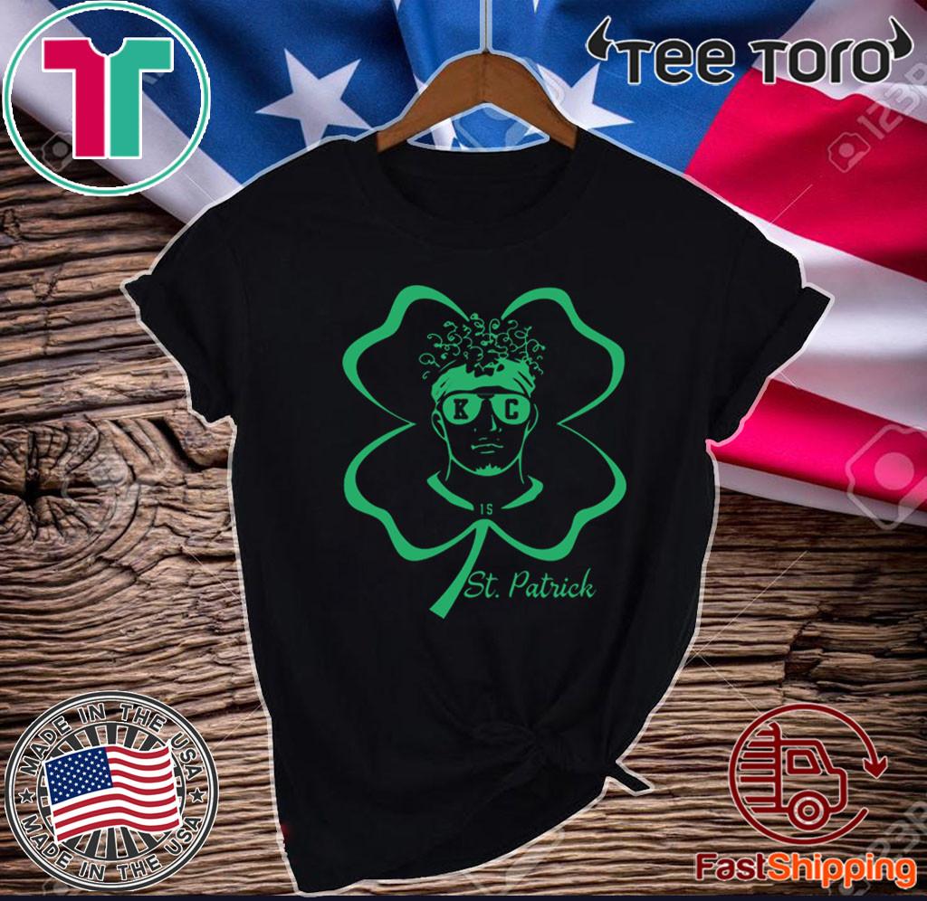 Patrick Mahomes St Patrick day 17 2020 T-Shirt