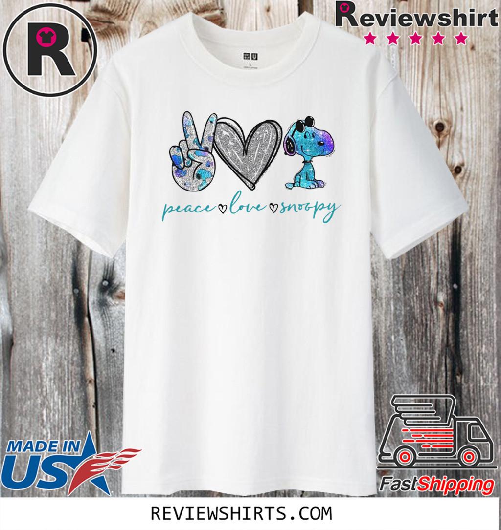 Peace Love Snoopy T-Shirt