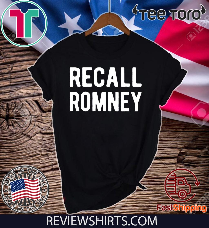Recall Romney 2020 T-Shirt
