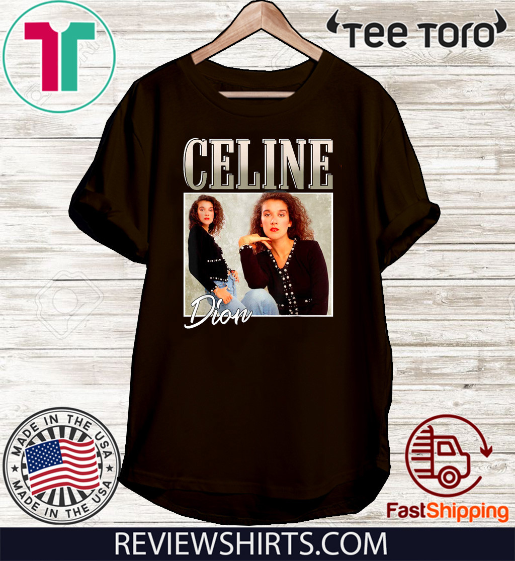 Retro Celine shirts Dion Legends Live Forever Funny Musician 2020 T-Shirt