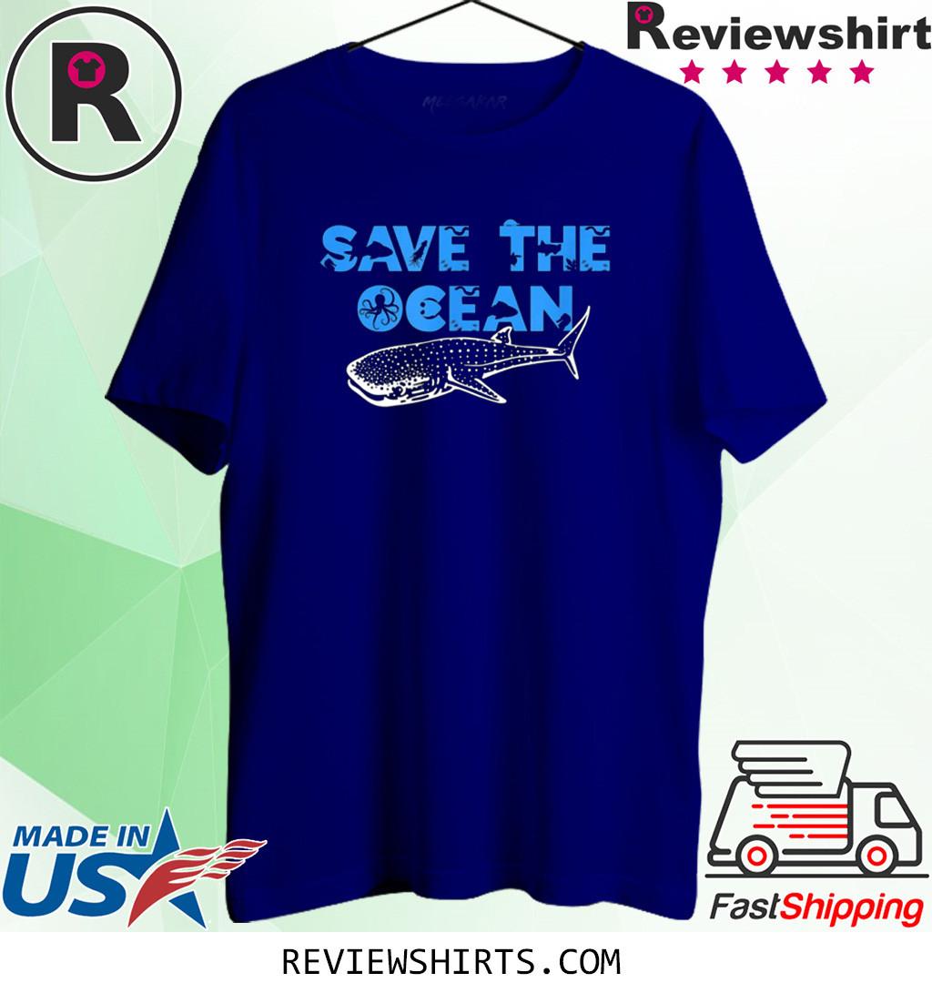 Sea and Ocean Environment Awareness Lovers T-Shirt