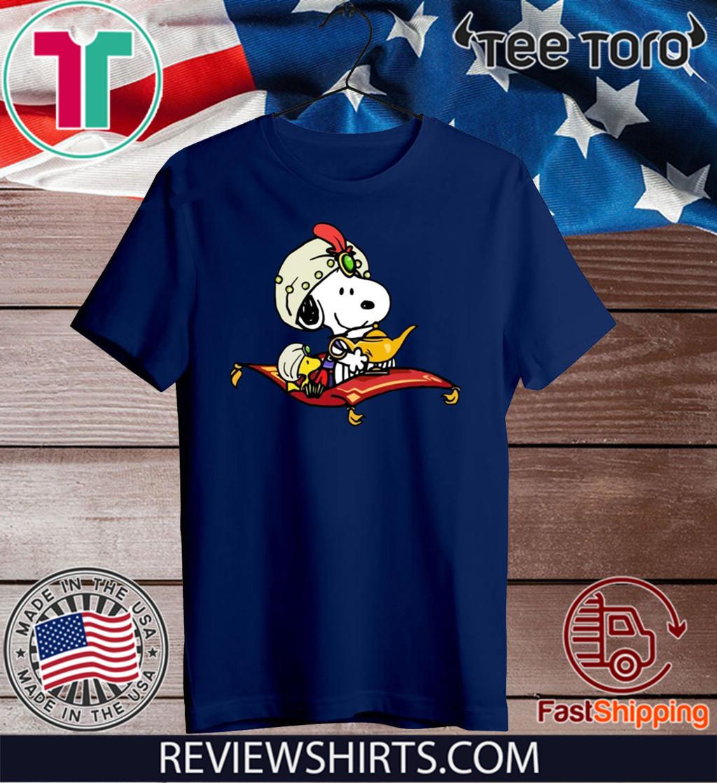 Snoopy Mixed Aladdin Shirt A Whole New World