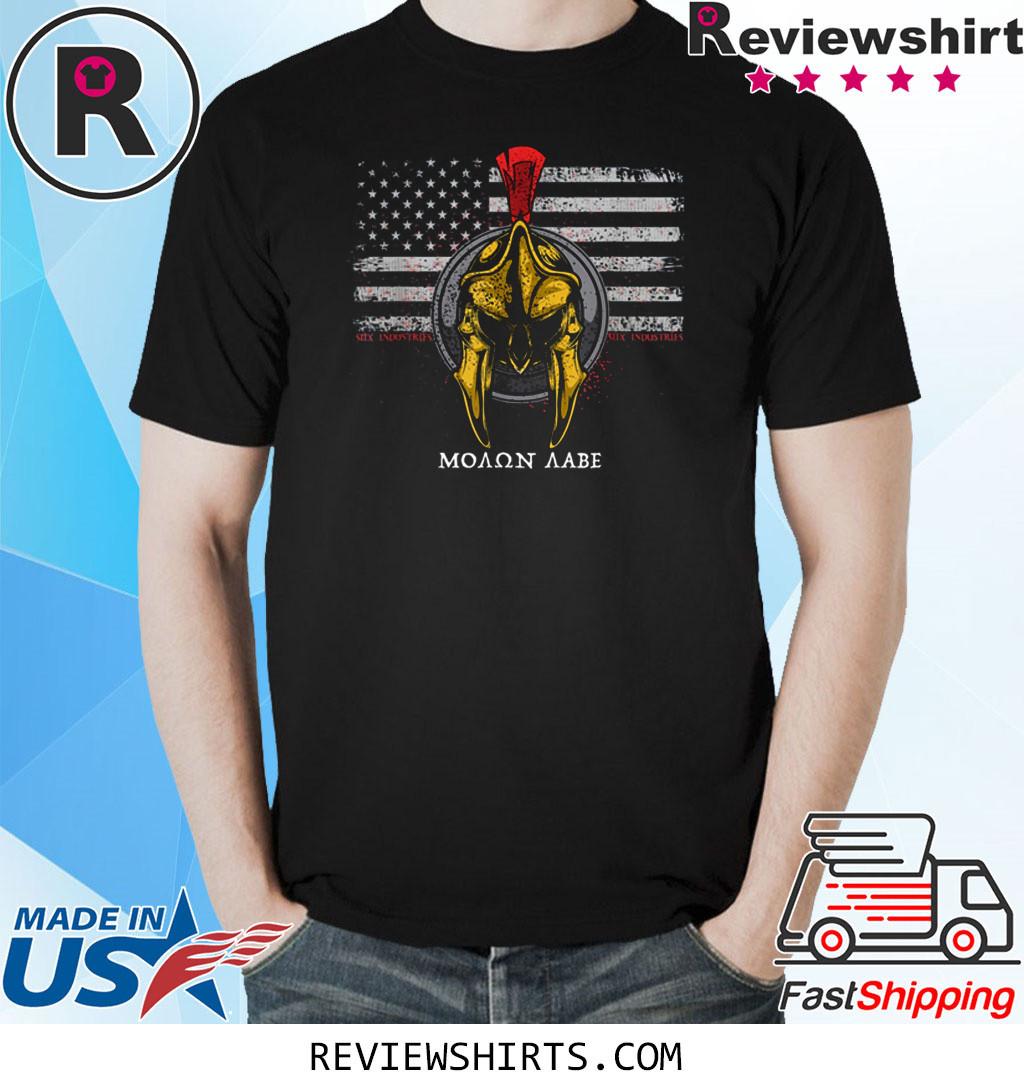 Spartan American Flag T-Shirt