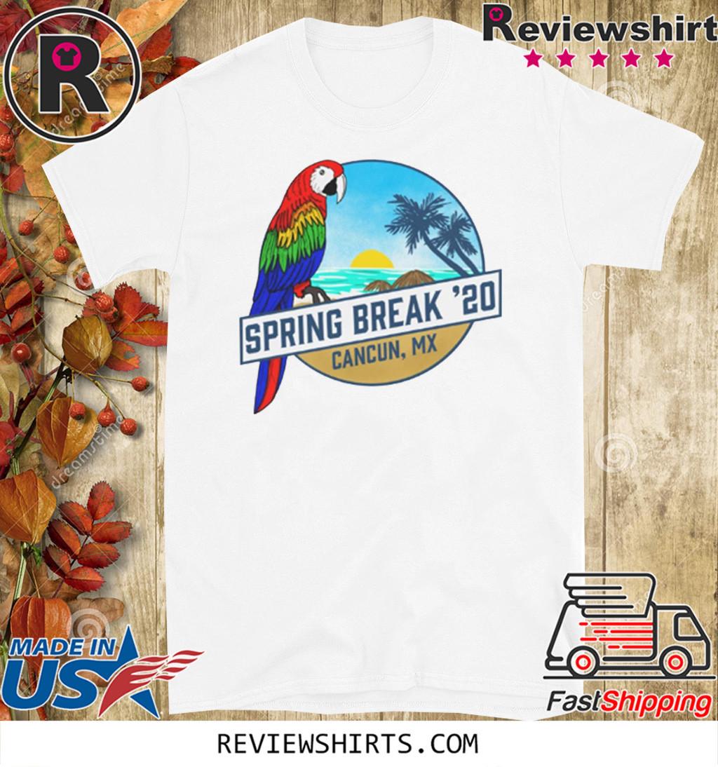 Spring Break 2020 Cancun Tank Shirt