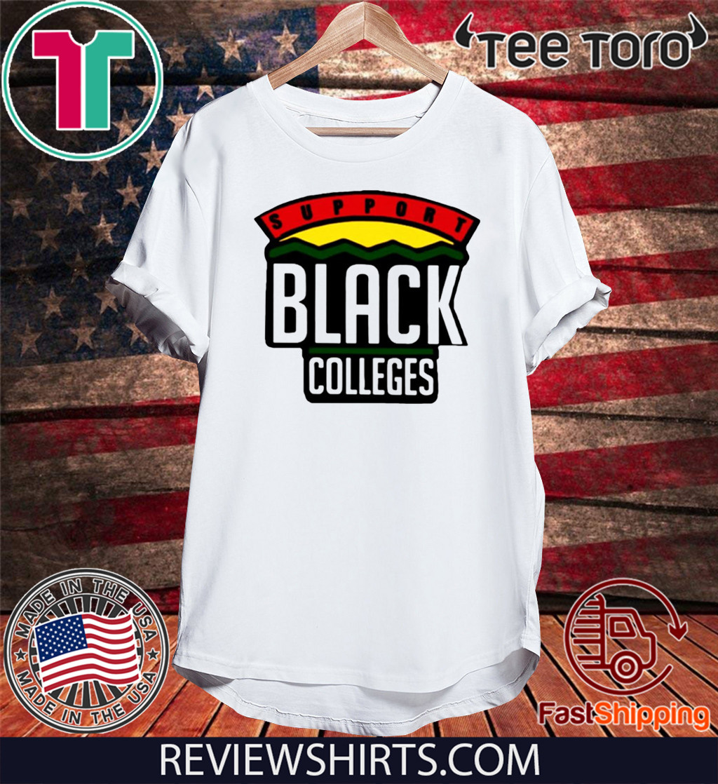 Support Black College Shirt