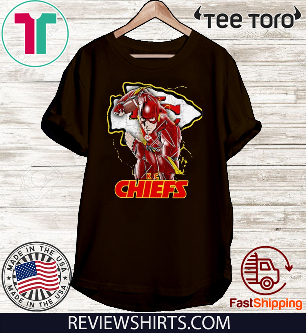 THE FLASH KANSAS CITY CHIEFS 2020 T-SHIRT