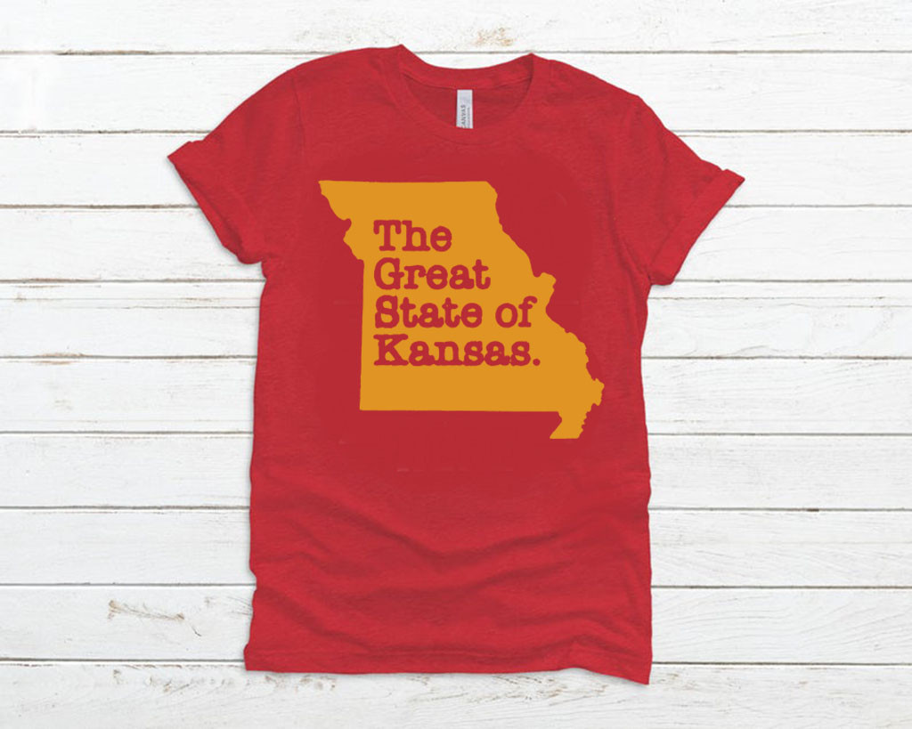 THE GREAT STATE OF KANSAS LIMITED EDITION T-SHIRT