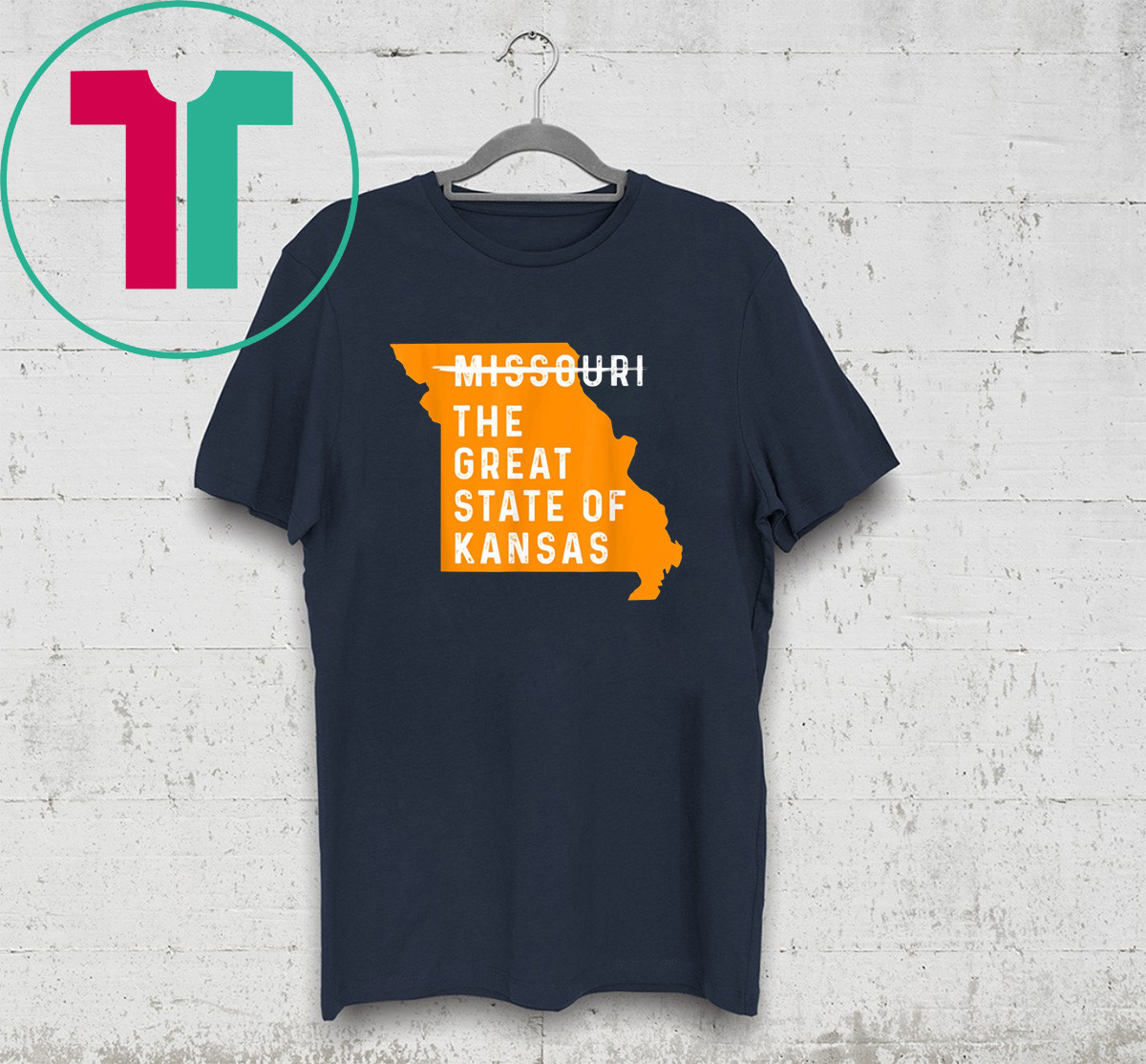 The Great State of Kansas Missouri State Shirt