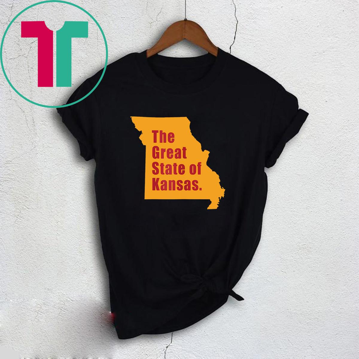 The Great State of Kansas Trump Tweet T-Shirt
