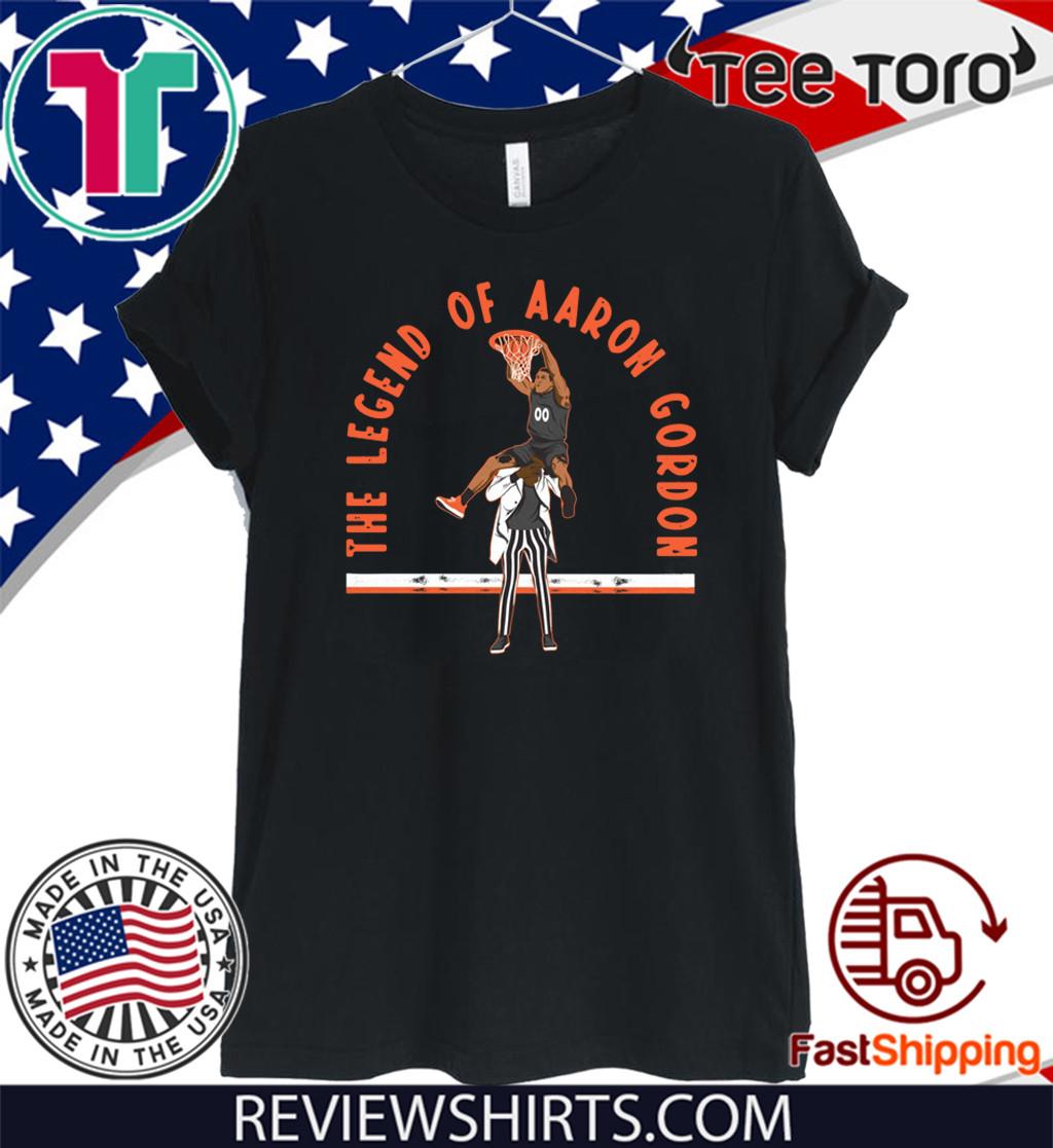 The Legend of Aaron Gordon Shirt