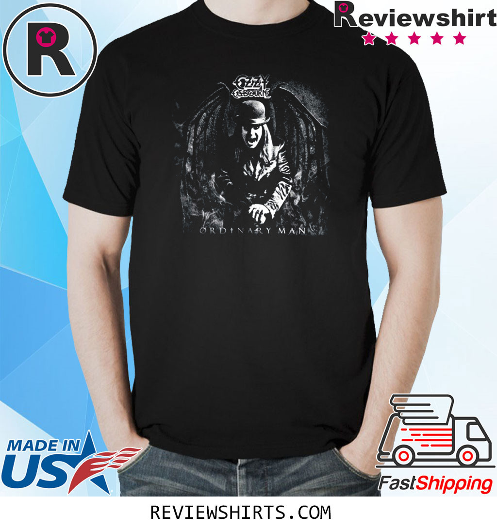 The My Ordinary Vintage Man Straight Rock to Hell Shirt