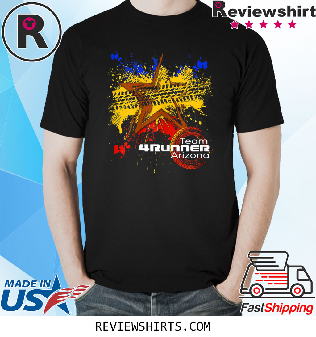 Tire Mud Splatter With Arizona Shirt