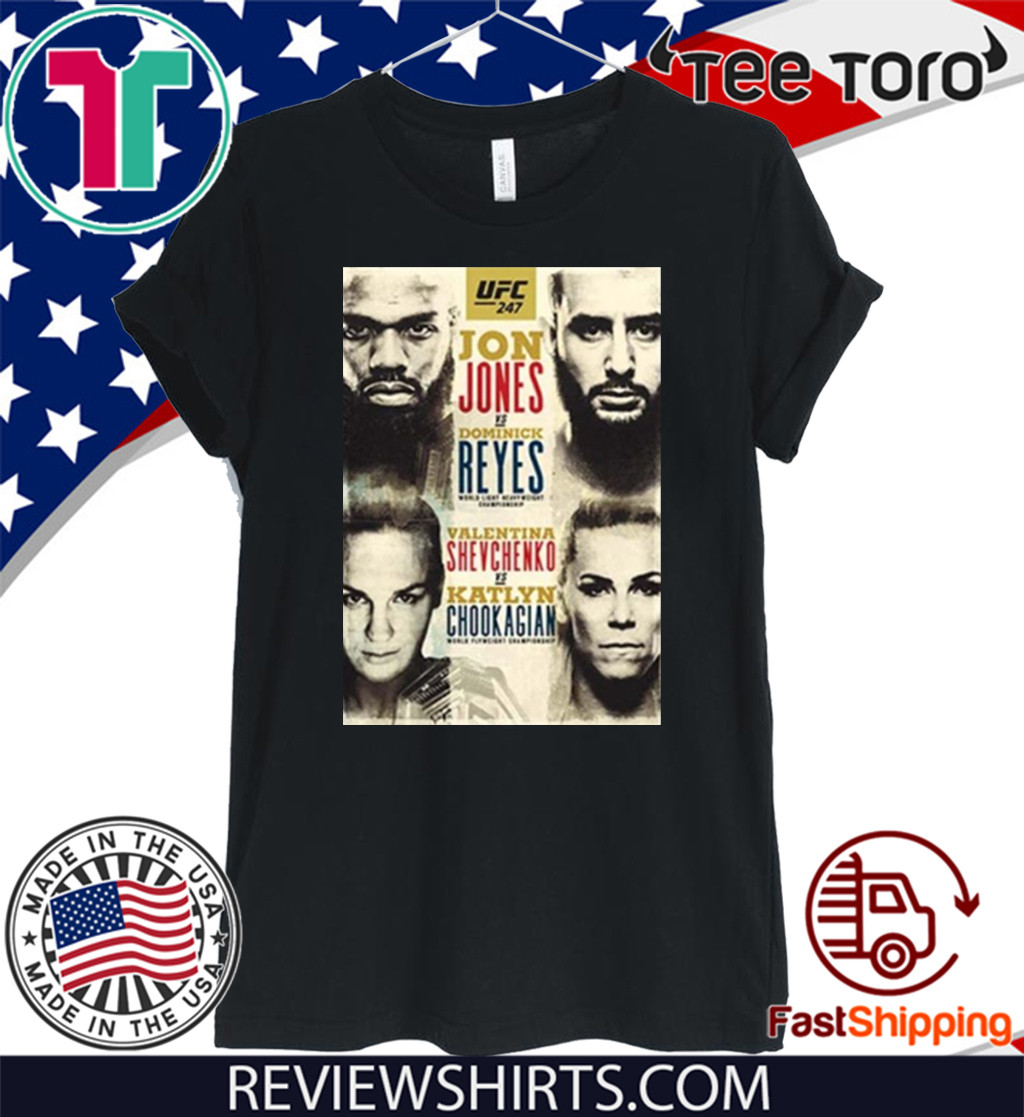 UFC 247 Bones vs Reyes Event 2020 T-Shirt