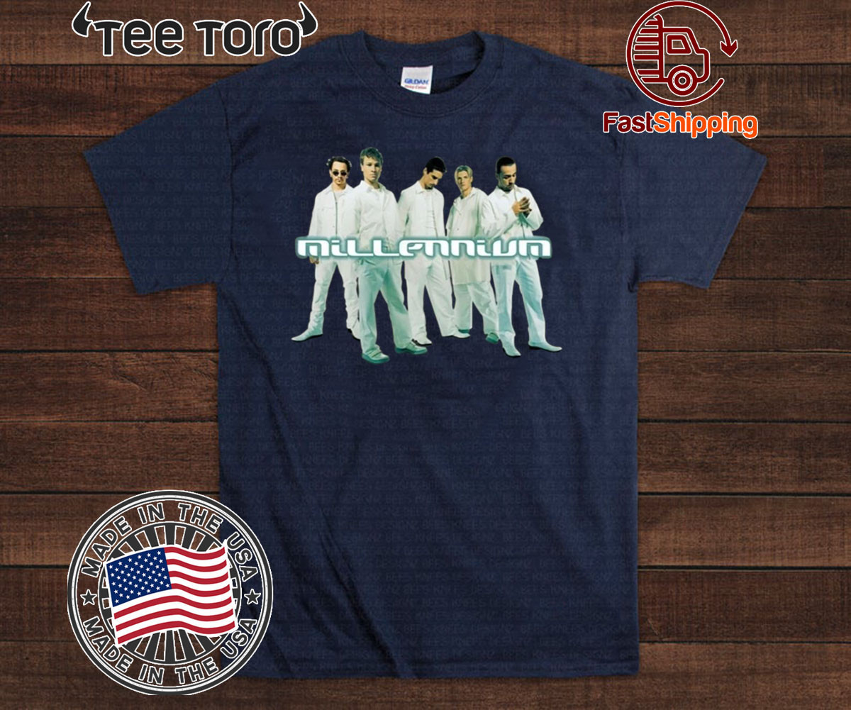 Band Millennium Backstreet Boys Vintage 90S T-Shirt