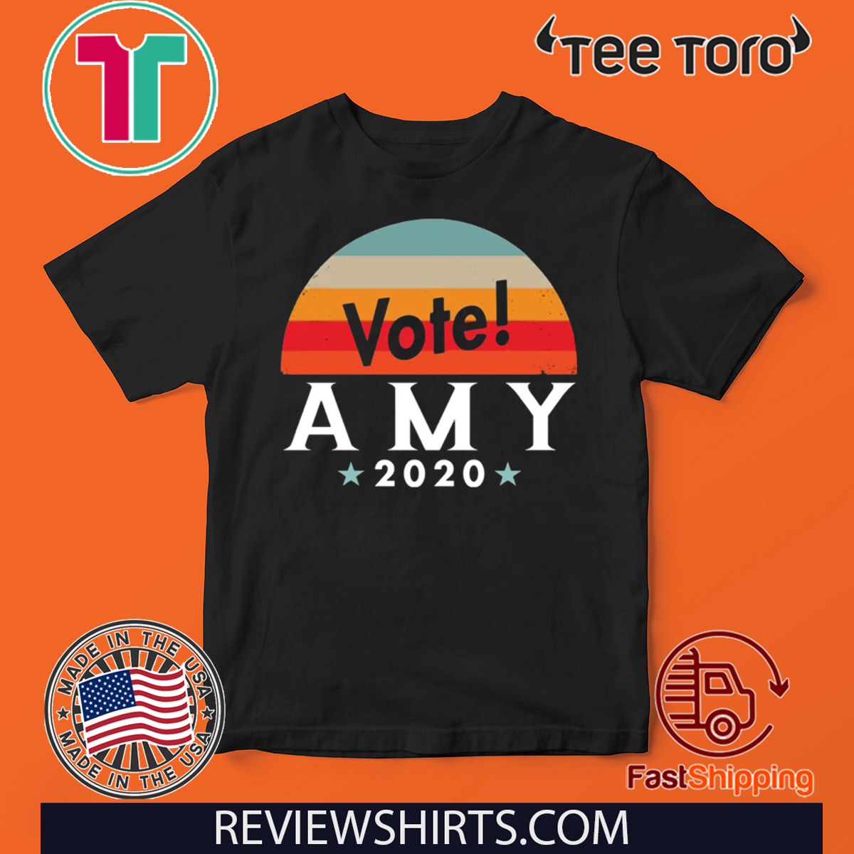 Official Vote Amy Klobuchar 2020 T-Shirt