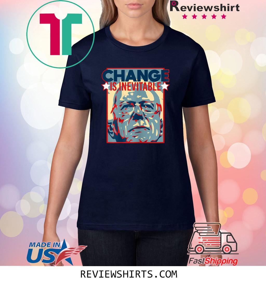 Vote Bernie Sanders 2020 Change is Inevitable T-Shirt