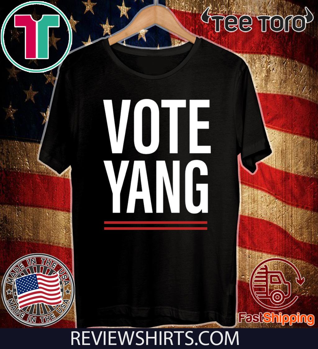 VOTE YANG SHIRT - VOTE YANG FOR T-SHIRT