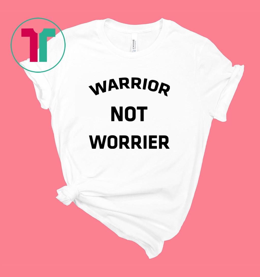 Warrior no worries shirt