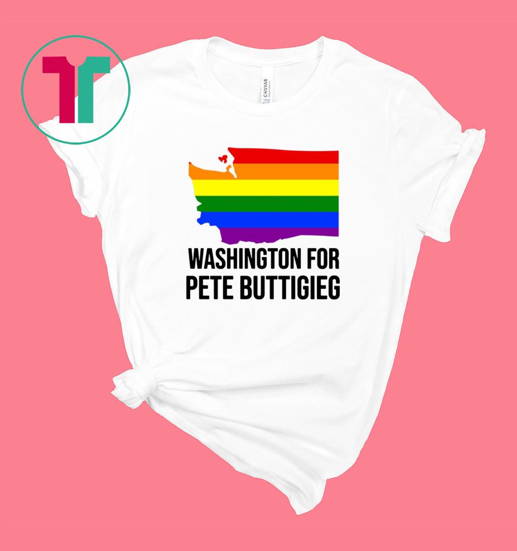 Washington for Pete Buttigieg LGBT Vote 2020 Shirt