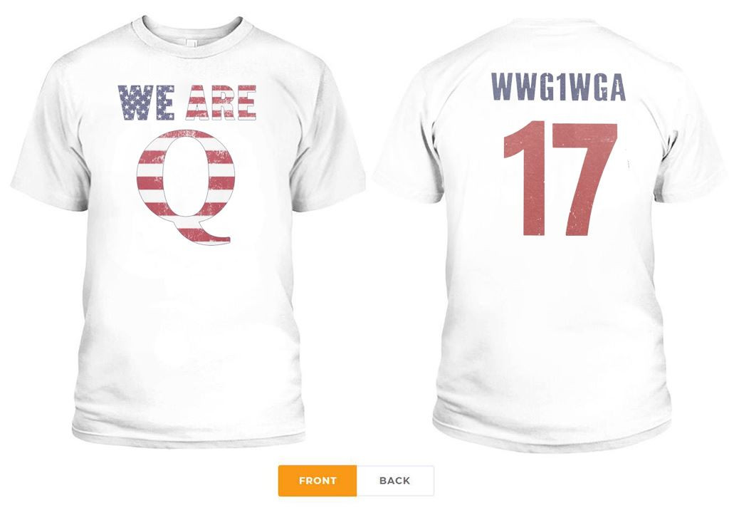WWG1WGA 17 WE ARE Q SHIRT