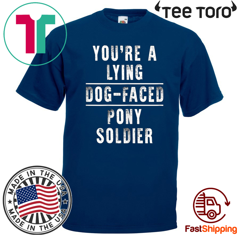 You're a Lying Dog-Faced Pony Soldier Joe Biden Funny T-Shirt