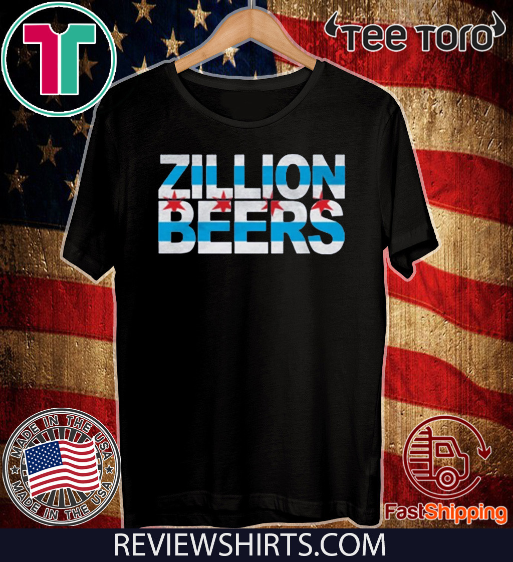 Zillion Beers CHI Flag Shirt