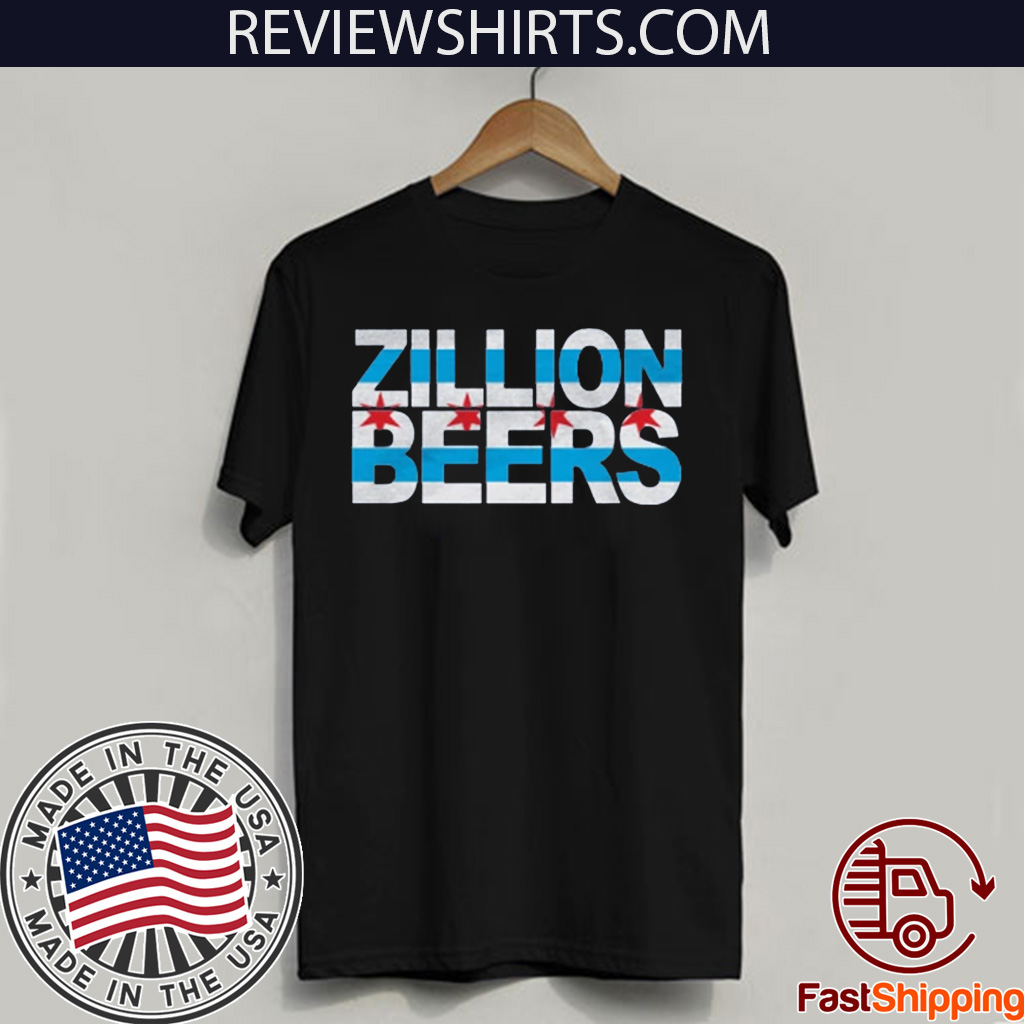 Zillion Beers CHI Flag 2020 T- Shirt