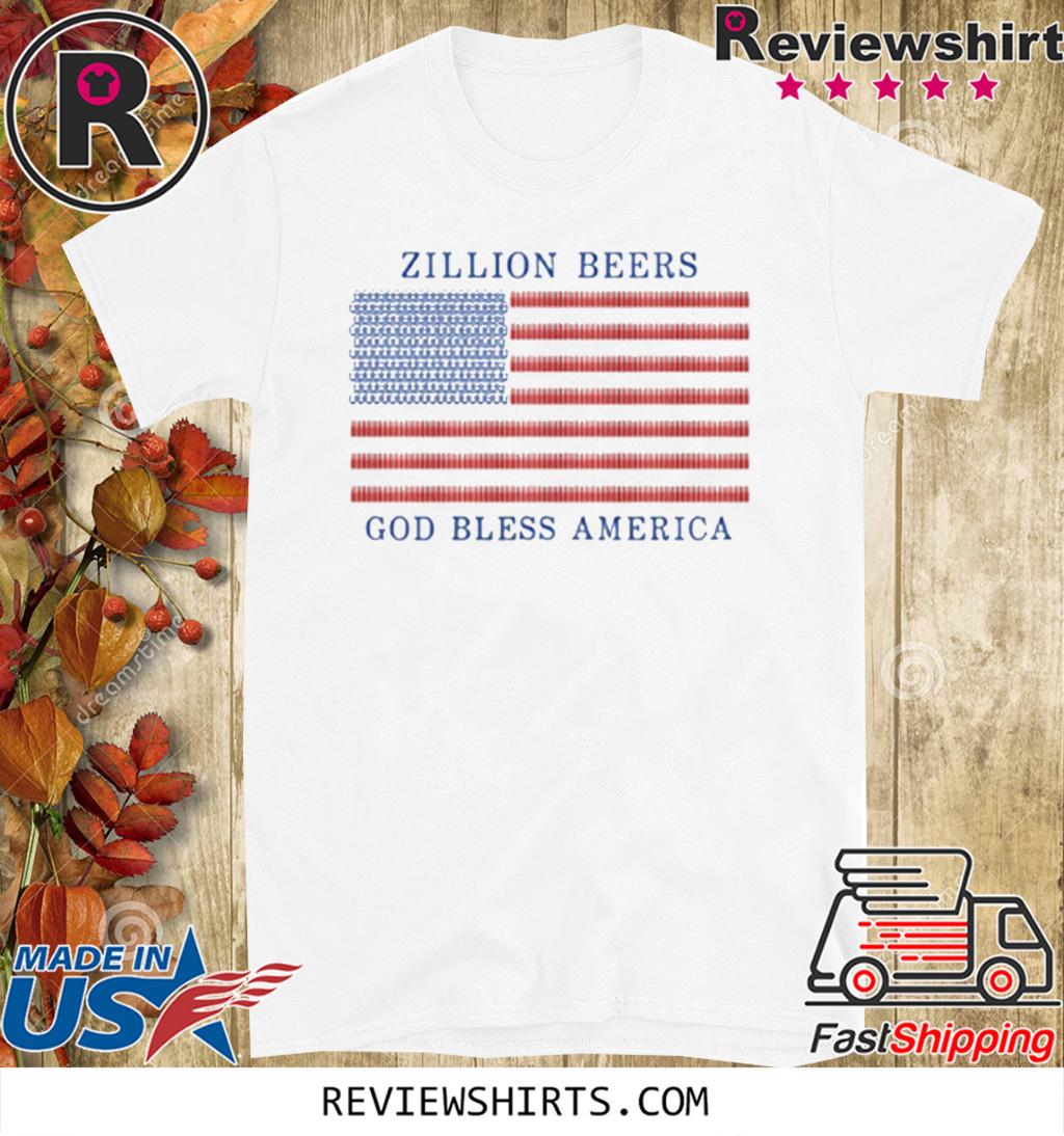 Zillion Beers America Pocket 2020 T-Shirt