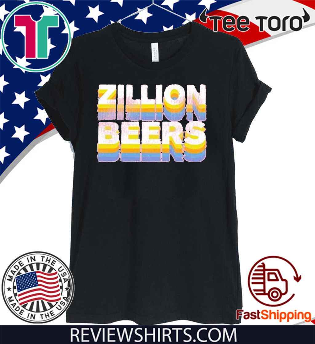 Zillion Beers Retro T-Shirt