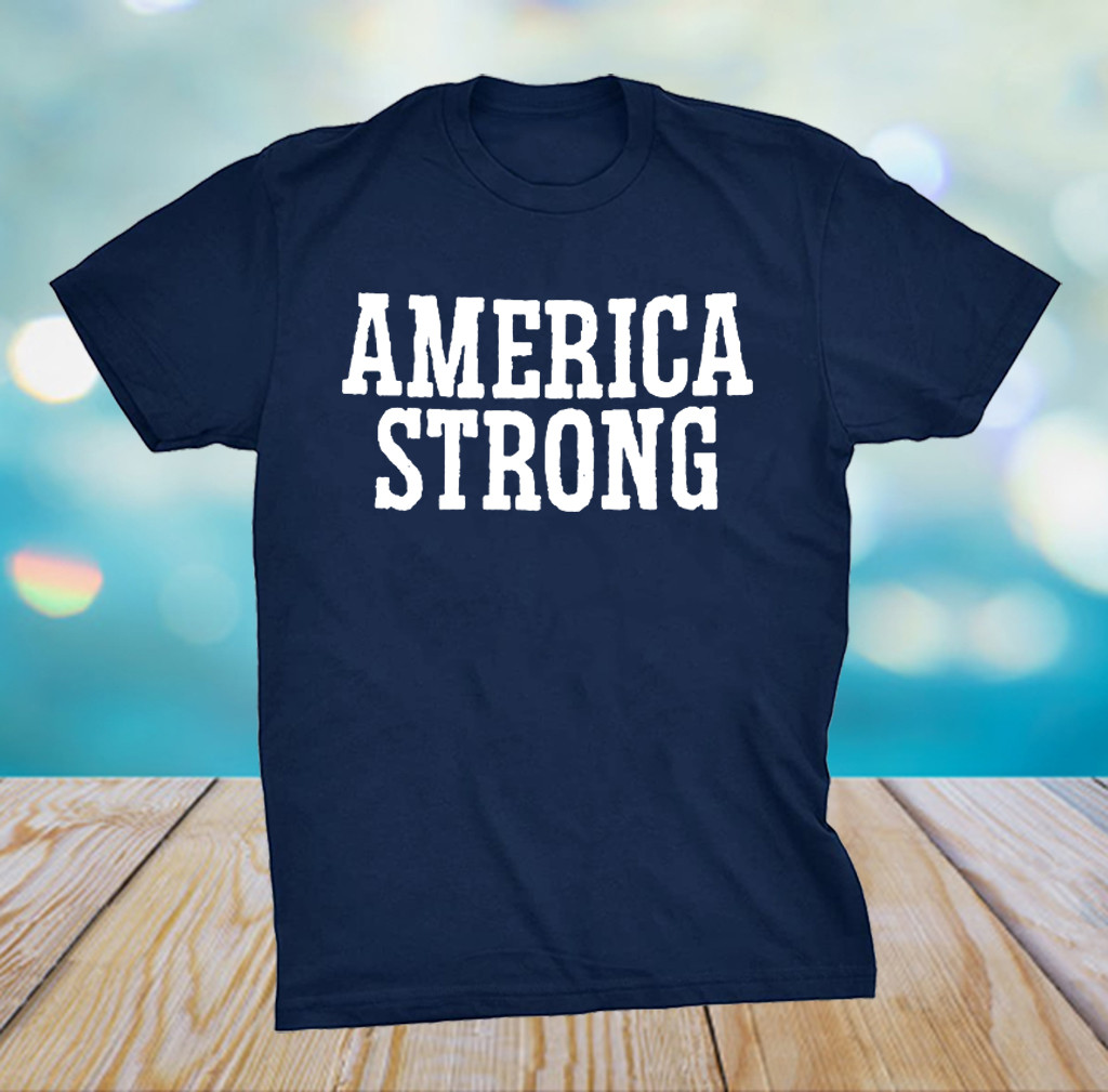 America Strong T-Shirt Flag US