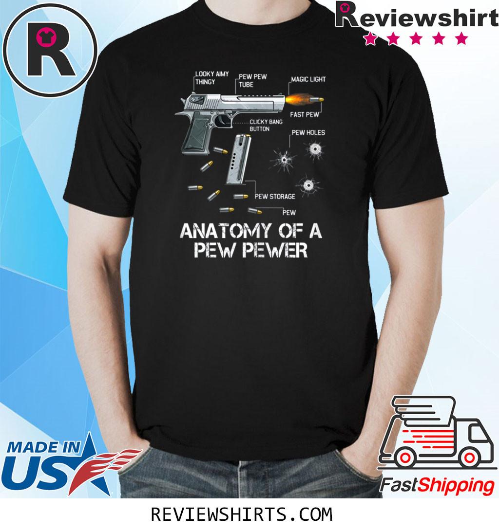 Anatomy Of A Pew Pewer Ammo Gun Amendment Meme Lovers T-Shirt