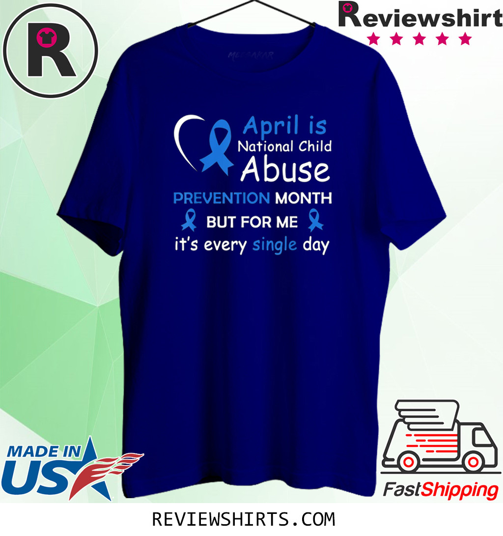 April is National Child Abuse Prevention Month Awareness Shirt